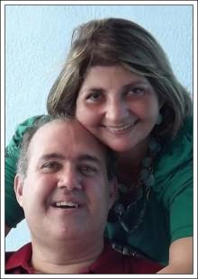 Claudia Maria da Rocha e o marido Thiago, ambos presos